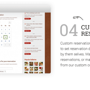 בורדו - תבנית לבתי קפה ומסעדות