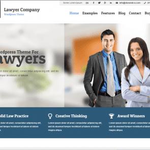 עורך דין - תבנית רב תכליתית לוורדפרס