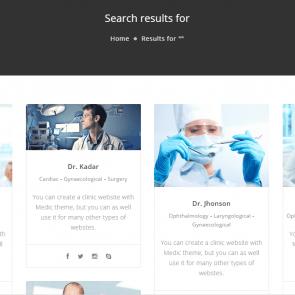 מדיק - תבנית וורדפרס לרפואה, בריאות ובתי חולים