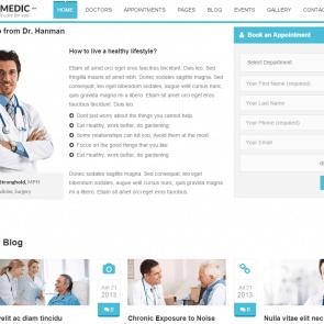 סול מדיק - תבנית שטוחה למרפאות ורופאים